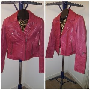 Must Have Leather Moto Jacket